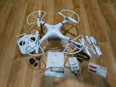 DJI Figment of the imagination 1 Drone barely used all original parts + extra set Propellers guards
