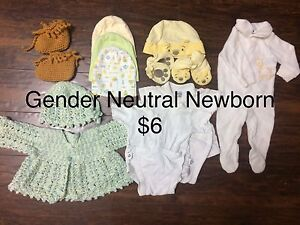 Newborn Clothes (Neutral and Boy)