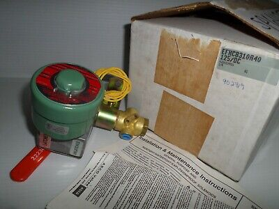 New In Box Asco Red Efhc8310a40 3-way Solenoid Valve 14 125v 125vdc