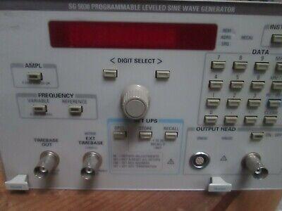 Tegam Sg5030 Programmable Leveled Sine Wave Generator