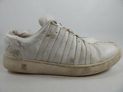K-Swiss Classic Luxury Edition Size 14 M (D) EU 49 Men's Tennis Shoes 0001-100 Classic Luxury Mens White Shoes