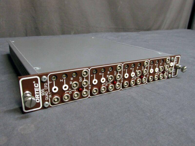 ORTEC 935 QUAD CFD NIM BIN MODULE