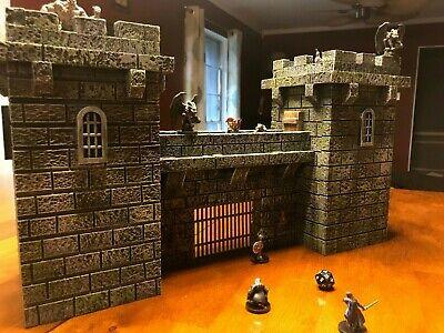 Big Dungeon Castle Wall Set Terrain 28mm Dungeons & Dragons Pathfinder d&d rpg](Dungeon Wall)