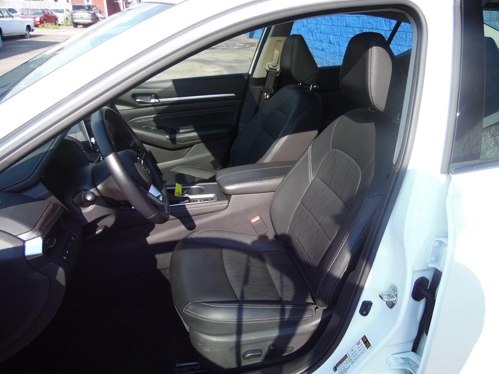 2019 Nissan Altima 2.5 Platinum 19476 Miles Pearl White Tricoat Sedan 2.5L 4-Cyl