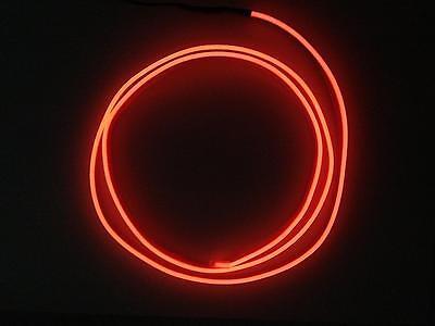 1 Meter Kein LED EL Ambientebeleuchtung Innenraumbeleuchtung Lichtleiste ORANGE