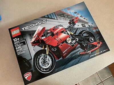 LEGO 42107 Technic Ducati Panigale V4 R motorcycle Factory Sealed