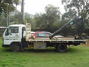 Crane Truck (cheap) Ford trader Capalaba West Brisbane South East Preview
