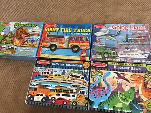 Floor puzzles -ages 3+