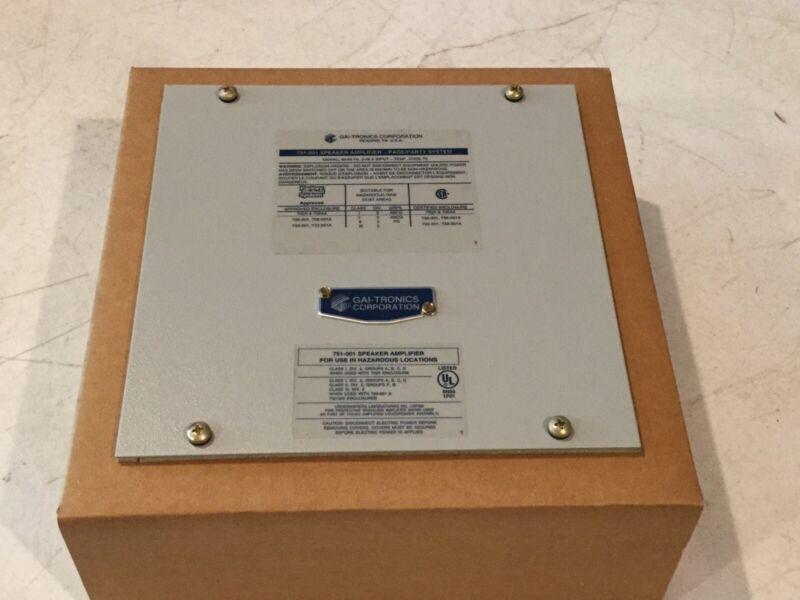 Gai-Tronics 751-001 Speaker Amplifier