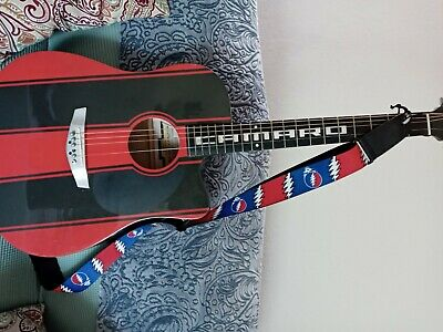 Esteban Camaro Red/Black Limited Edition 6-String Acoustic Electric Guitar