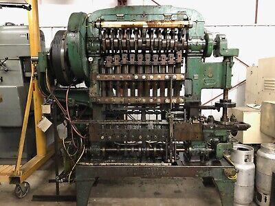 Waterbury Farrel 15 Size Eyelet Machine Transfer Press15101