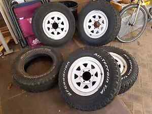 Hilux rims and tyres bfg Beldon Joondalup Area Preview