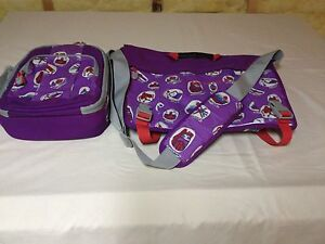 """LANDS END """"BRIANNA"""" BOOK BAG, LUNCH KIT & BACKPACK-CUTE!"""