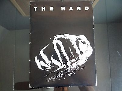 1981 The Hand Movie Studio Press Kit incl 7 Photos - Michael Caine