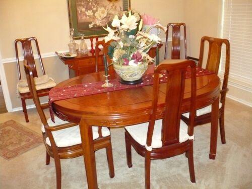 Rosewood dinning room set
