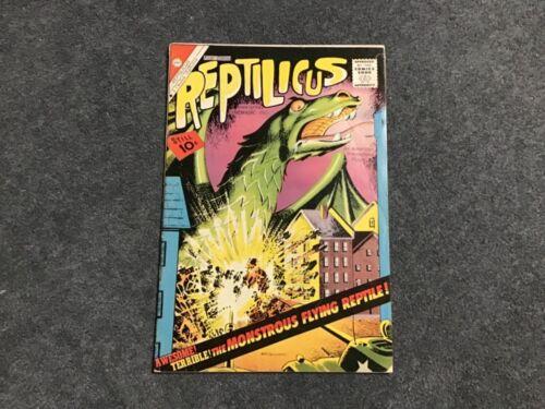 Reptilicus #1 Fine Silver Age 1961
