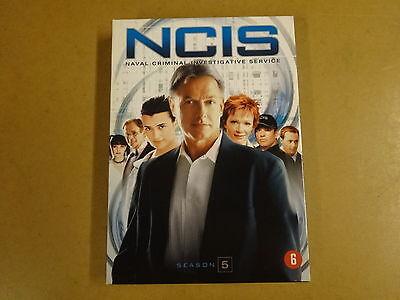 5-DISC DVD BOX / NCIS - NAVAL CRIMINAL INVESTIGATIVE SERVICE - SEASON 5