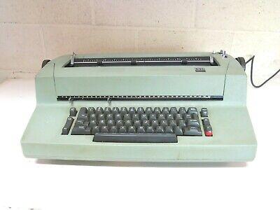 Classic 1970s Ibm Selectric Ii Green Electric Typewriter Please Read As-is N2