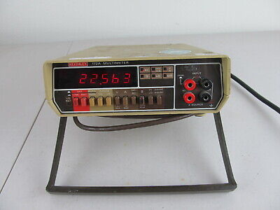 Keithley 172a Multimeter Dmm As Is For Parts Or Repair
