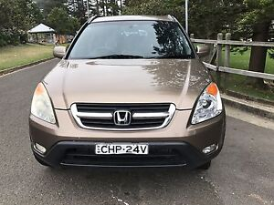 Cheap car One Year  REGO Honda CR-V Sports luxury 2004 & low KMS North Lambton Newcastle Area Preview