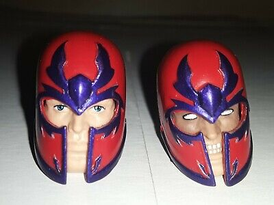 Marvel Legends Magneto Heads ONLY (Family Matters 3 Pack)
