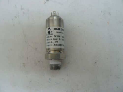 OMEGADYNE PX319-100A5V HIGH PERFORMANCE PRESSURE TRANSDUCER 100PSI 5VDC