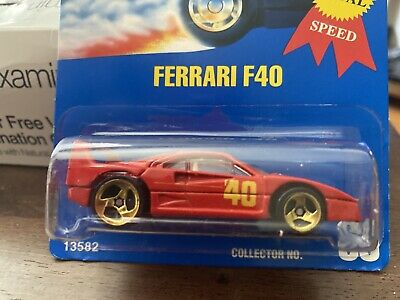 HOT WHEELS VHTF FERRARI F40