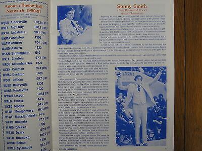 1980  AUBURN/Armstrong State  Basketball  Program (DARRELL  LOCKHART/SONNY SMITH