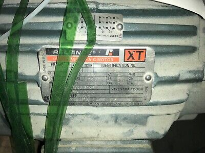 Reliance Electric Motor P21g341k 10hp 230460v 1755rpm Fr-215t.