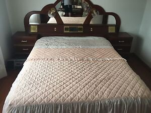 Bed + bed head St Albans Brimbank Area Preview
