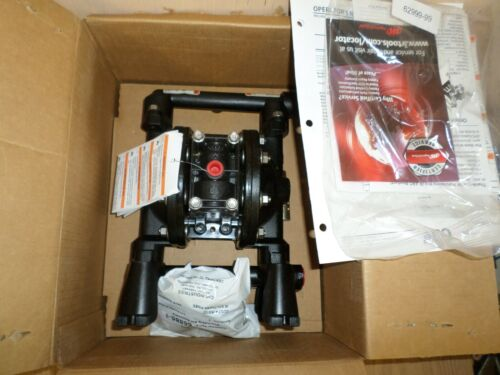 """New Aro Ingersoll Rand 1/2"""" Air Double Diaphragm Pump 12 GPM 350F, 670042  #841"""
