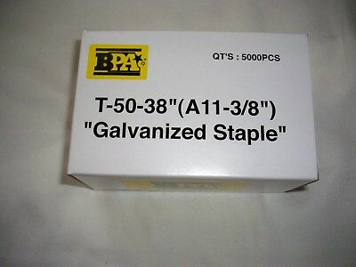 Bulk 100000 Bpa T-50- A11 - 38 Staples 20 Boxes By Building Prods Of America