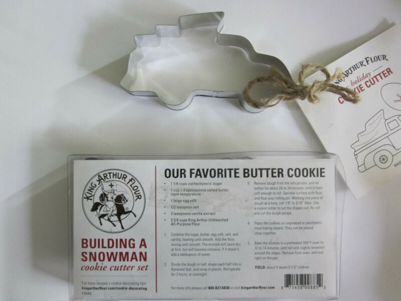 King Arthur Flour holiday cookie cutters - metal
