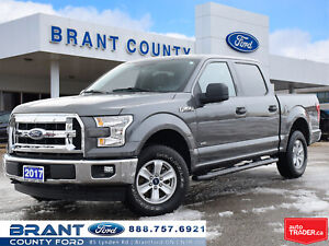 2017 Ford F-150 XLT - REAR VIEW CAMERA, TRAILER TOW PKG!