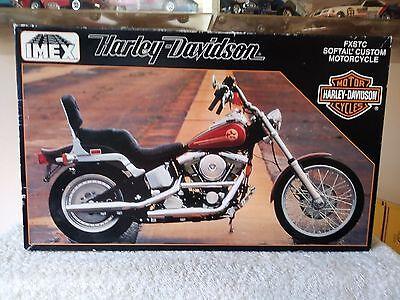 IMEX 1/9 Scale  Motorcycle Model Kit  Harley-Davidson  Soft Tail Custom # 402