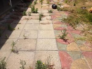 Concrete painted slabs free Stirling Stirling Area Preview