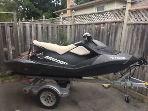 2014 Seadoo spark 3up  (3 person/ seater) with IBR