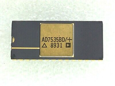Ad7535bd Ad Digital To Analog Converters Cerdip 1 Unit