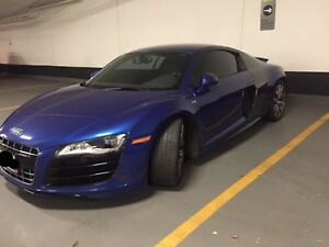 2010 Audi R8 5.2 V10 RARE Gated 6 Speed man w.Carbon side blades