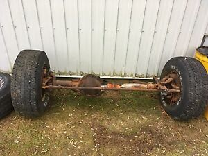 1979 Chevy Blazer solid axles front and rear