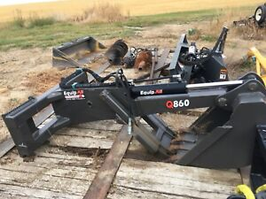 Backhoe Attachment for Skid Steer