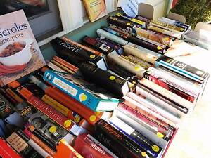 BOOK SALE, BOOKS and MORE BOOKS- GARAGE Saturday 10 December 2016 Kensington Melbourne City Preview