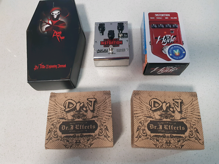 Effects Pedal Clearance