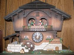 German Original Schwarzwalder  Cuckoo Clock (Hand Made) & Swiss Musical Movement