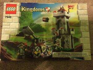 LEGO kingdoms guard tower and catapult