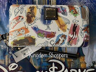 2020 Disney Parks Ink & Paint Dooney & Bourke Wallet Actual Placement Shown A