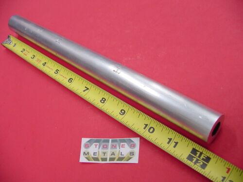 "1"" OD x 1/4"" Wall 6061 T6 ALUMINUM Round Tube 12"" long 1/2"" ID Seamless"