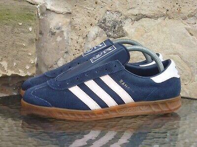 Vintage Adidas Hamburg UK 7 Made In Yugoslavia OG 70s 80s Rare City Series