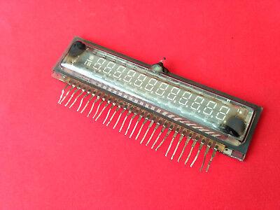 Ivl1-813 1-813 Vfd Digit Clock Display Unique Tube Vintage Ussr Rare New
