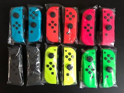 Brand New Nintendo Switch Joy Con Single   Neon Blue Red Yellow Green Pink Gray